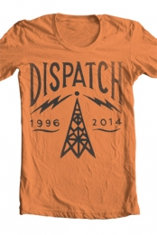 Radio Tower Tee (Burnt Orange)