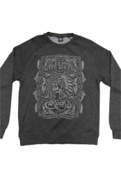Native Crewneck Sweatshirt (Heather Charcoal)