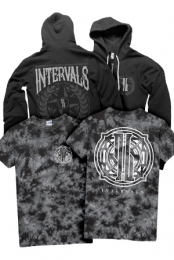 Badge Tie Dye Tee + Propaganda Crest Zip Up Hoodie