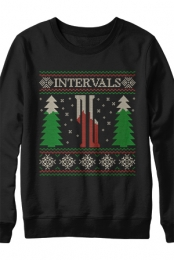 Holiday Crewneck Sweatshirt (Black)