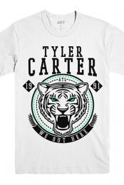 Lion Tee (White) - Tyler Carter