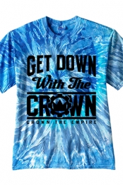 Get Down With The Crown Tee (Blue Jerry)