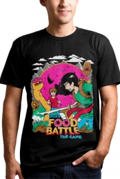 Food Battle The Game Tee (Black)
