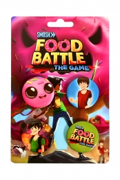 Food Battle The Game Button Pack