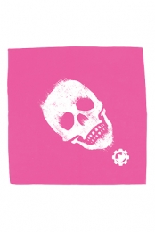 Limited Edition Hot Pink Skull Bandana