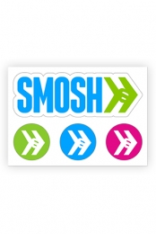Smosh Logo Sticker Sheet