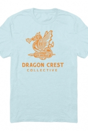 Dragon Crest Tee (Baby Blue)