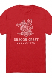 Dragon Crest Tee (Red)