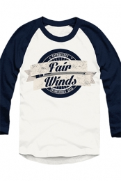 Fair Winds Raglan (White/Navy)