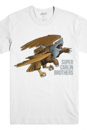 Grizzly Eagle Shark Tee (White)