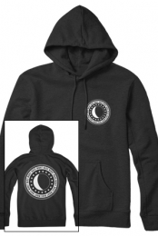 Night Bass Crest Pullover Hoodie (Black)