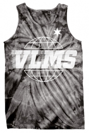 Worldwide Tie Dye Tank (Spider Black)