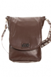 Chewy Mini Messenger Bag (Brown)