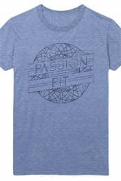 Cycle Tee (Heather Athletic Blue)