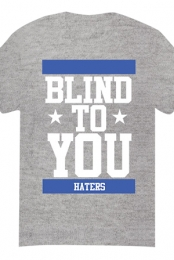 Blind To You Tee (Heather Grey)