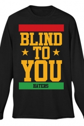 Blind To You Long Sleeve Tee (Black)