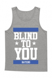 Blind To You Tank (Heather Grey)