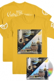 Evermore Tee (Gold) + Evermore - The Art Of Duality CD