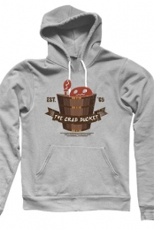 The Crab Bucket Pullover Hoodie (Ash Grey) - NorthernLion