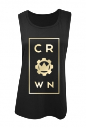 Center Womens Tank (Black)