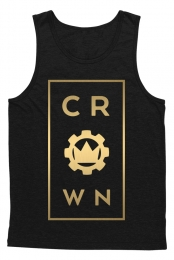 Center Mens Tank (Black)
