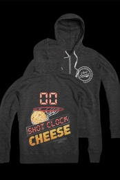 Shot Clock Cheese Zip Up (Heather Charcoal)