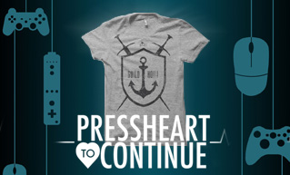 Press Heart to Continue