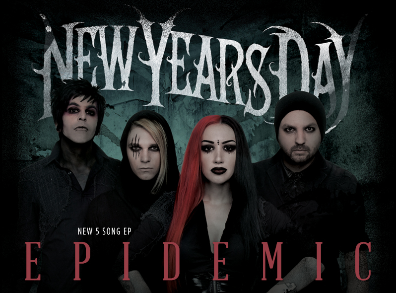 New Years Day Merch - Online Store on District Lines